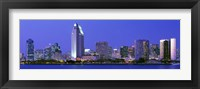 Framed Skyline, San Diego, California, USA