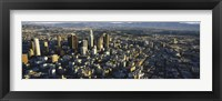 Framed Aerial View of Los Angeles, California