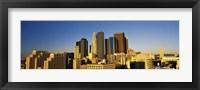 Framed Los Angeles Skyline