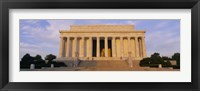 Framed Facade of a memorial building, Lincoln Memorial, Washington DC, USA