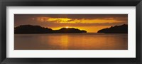 Framed Islands in the sea, Everglades National Park, Miami, Florida, USA
