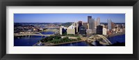 Framed Pittsburgh Skyline