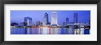 Framed Night, Jacksonville, Florida, USA