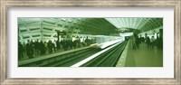 Framed Metro Station Washington DC USA
