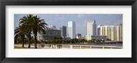 Framed Skyline Tampa FL USA