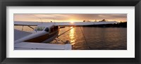 Framed Sea plane, Lake Spenard, Anchorage, Alaska