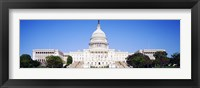 Framed US Capitol, Washington DC, District Of Columbia, USA