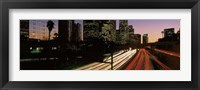 Framed Harbor Freeway Los Angeles CA