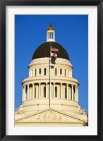 Framed California State Capitol Building Sacramento CA