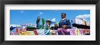 Framed Mardi Gras Floats