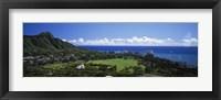 Framed Waikiki Oahu HI