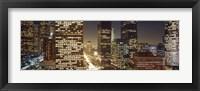Framed Los Angeles California USA