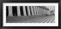 Framed Courthouse Steps, NYC