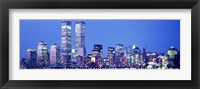 Framed Evening, Lower Manhattan, NYC, New York City, New York State, USA