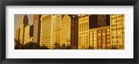 Framed Michigan Avenue Architecture, Chicago, Illinois, USA