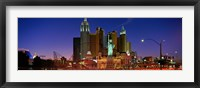 Framed Las Vegas Nevada (night)
