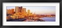 Framed Seattle Washington USA