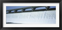Framed USA, Ohio, Columbus, Big Walnut Creek, Low angle view of a Dam