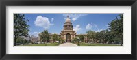 Framed Facade of a government building, Texas State Capitol, Austin, Texas, USA