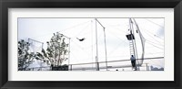 Framed Trapeze School New York, Hudson River Park, NYC, New York City, New York State, USA