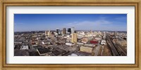Framed Aerial view of a city, Birmingham, Alabama, USA