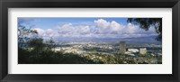 Framed Studio City, San Fernando Valley, Los Angeles, California