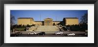 Framed Facade of an art museum, Philadelphia Museum Of Art, Philadelphia, Pennsylvania, USA