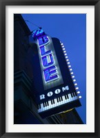 Framed Blue Room Jazz Club, 18th & Vine Historic Jazz District, Kansas City, Missouri, USA
