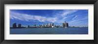 Framed Detroit Skyline