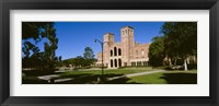 Framed Facade of a building, Royce Hall, City of Los Angeles, California, USA