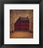 Framed American Saltbox I
