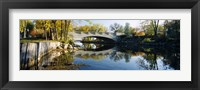 Framed Bridge across a river, Yahara River, Madison, Dane County, Wisconsin, USA