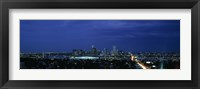 Framed High angle view of a city, Denver, Colorado