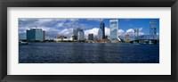 Framed St. John's River, Jacksonville, Florida