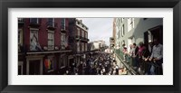 Framed Group of people participating in a parade, Mardi Gras, New Orleans, Louisiana, USA
