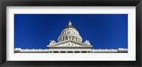 Framed Dome of California State Capitol Building, Sacramento, California
