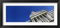 Framed Low angle view of a government building, California State Capitol Building, Sacramento, California
