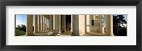 Framed Columns of a memorial, Jefferson Memorial, Washington DC, USA