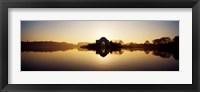 Framed Jefferson Memorial, Tidal Basin, Potomac River, Washington DC