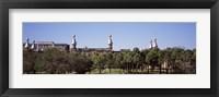 Framed University Of Tampa campus, Tampa, Florida