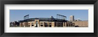 Framed Baseball park in a city, Oriole Park at Camden Yards, Baltimore, Maryland, USA