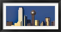 Framed Skyline View with Reunion Tower, Dallas TX