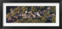 Framed Buildings in a town, Harpers Ferry, Jefferson County, West Virginia, USA