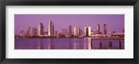 Framed City Skline View of San Diego