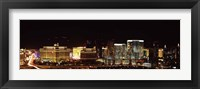 Framed Las Vegas at Night, 2010