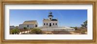 Framed Lighthouse, Old Point Loma Lighthouse, Point Loma, Cabrillo National Monument, San Diego, California, USA