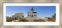 Framed Lighthouse, Old Point Loma Lighthouse, Point Loma, Cabrillo National Monument, San Diego, California, USA