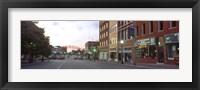 Framed Street View of Kansas City, Missouri