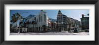 Framed Street Corner at Rodeo Drive, Beverly Hills, California