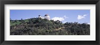 Framed Griffith Park Observatory, Los Angeles, California
